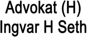 Advokat (H) Ingvar H Seth logo