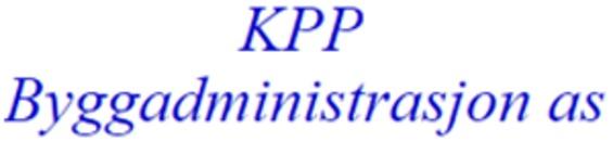 KPP - Byggadministrasjon logo