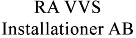 RA VVS Installationer AB logo