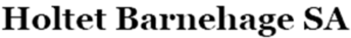 Holtet Barnehage SA logo
