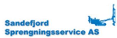 Sandefjord Sprengningsservice logo