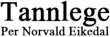 Tannlege Per Eikedal logo