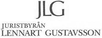 Juristbyrån Lennart Gustavsson logo
