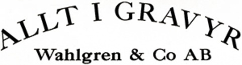 Allt i Gravyr Wahlgren & Co AB logo