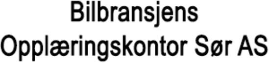 Bilbransjens Opplæringskontor Sør AS logo