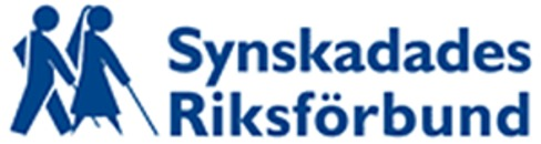 Synskadades Riksförbund logo