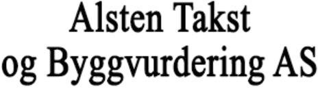 Alsten Takst og Byggvurdering AS logo