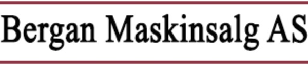 Bergan Maskinsalg AS logo