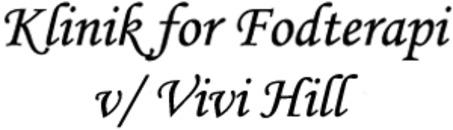 Klinik for Fodterapi v/ Vivi Hill logo