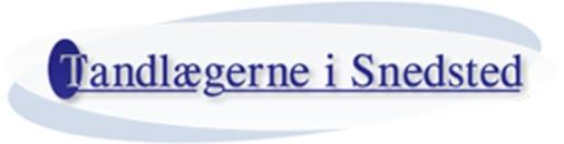 Tandlægerne I Snedsted/ v. Ellen Fogh-Andersen &  Peter Bisgaard logo