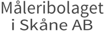 Måleribolaget i Skåne AB logo