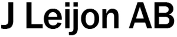 J Leijon AB logo