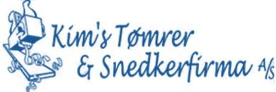 Kim's Tømrer & Snedkerfirma A/S logo
