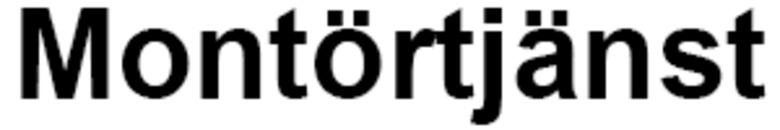 Montörtjänst logo