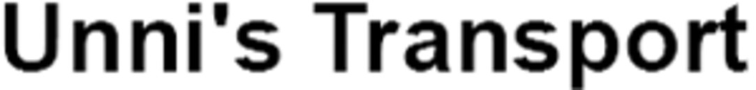 Unni's Transport logo