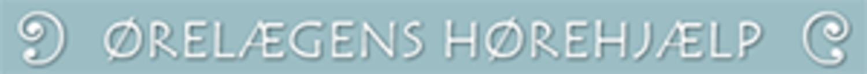 Ørelægens Hørehjælp logo