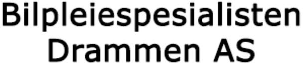 Bilpleiespesialisten Drammen AS logo