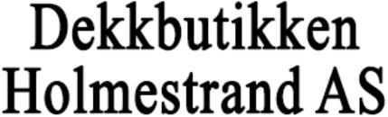 Dekkbutikken Holmestrand AS logo
