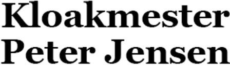 Kloakmester Peter Jensen ApS logo