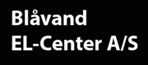 Blåvand El-Center A/S logo