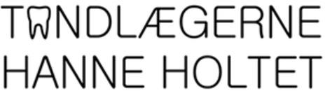 Tandlæge Hanne Holtet logo