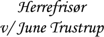 Herrefrisør v/ June Trustrup logo