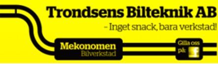 Trondsens Bilteknik Örsholmen AB logo