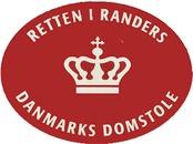 Retten i Randers logo