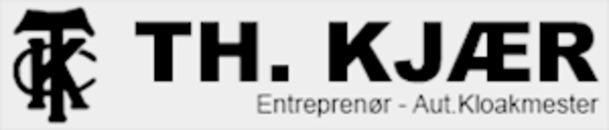 Th. Kjær Entreprenør - Aut. kloakmester logo
