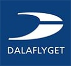 Mora flygplats logo