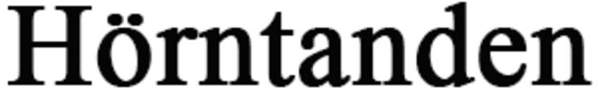 Hörntanden logo