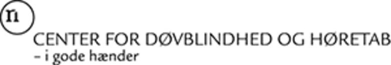 Center for Døvblindhed og Høretab logo