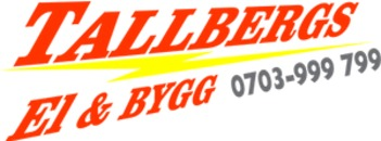 Tallbergs El & Bygg AB logo