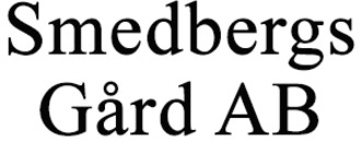 Smedbergs Gård AB logo