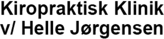 Kiropraktisk Klinik v/ Helle Jørgensen logo