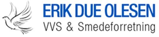 Erik Due Olesen VVS og Smedeforretning logo