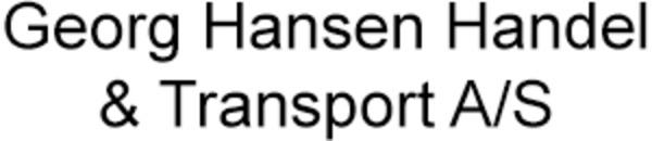 Georg Hansen Handel & Transport A/S logo