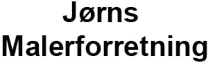 Jørns Malerforretning logo