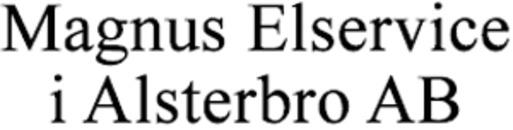 Magnus Elservice i Alsterbro AB logo