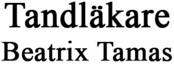 Tandläkare Beatrix Tamas logo