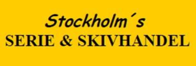 Stockholms Serie & Skivhandel logo