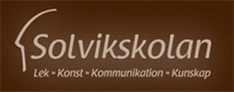 Solvikskolan logo