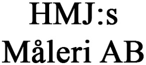 HMJ:s Måleri AB logo