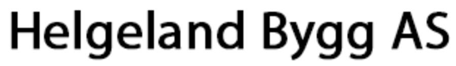 Helgeland Bygg AS logo