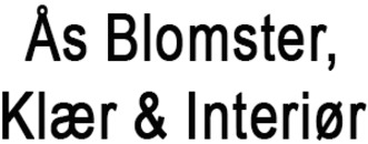 Ås Blomster Klær & Interiør AS logo