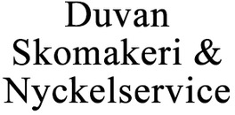 Duvan Skomakeri & Nyckelservice logo