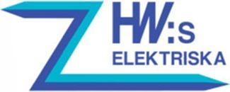 HW:s Elektriska AB logo