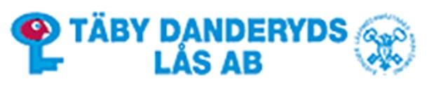 Täby Danderyd Lås, AB logo