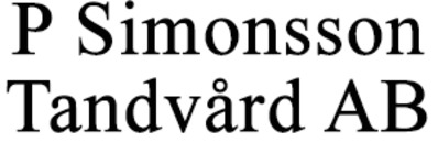 P Simonsson Tandvård AB logo