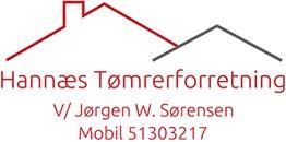 Hannæs Tømrerforretning v/Jørgen Wessel Sørensen logo